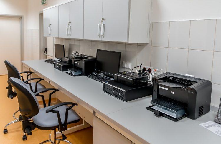 atramentowe drukarki stosowane w firmie