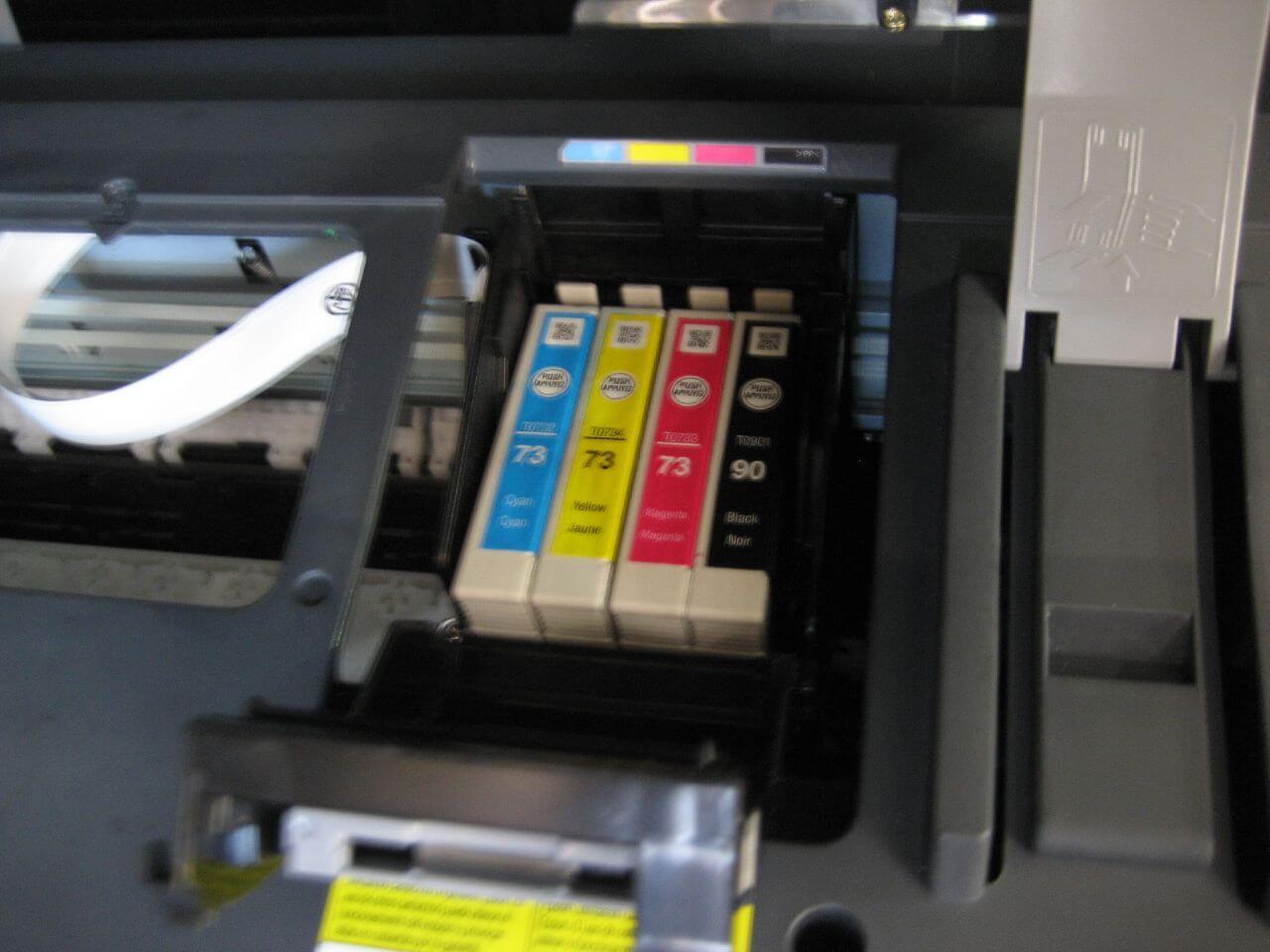 tusz do drukarki atramentowej